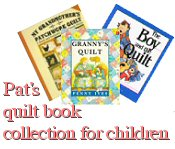 Pat Nicholls quilt book collection